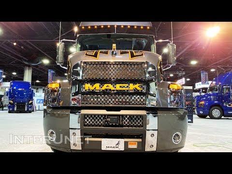 2020 Mack Anthem 70 Standup Sleeper Zac Brown Customs Semi