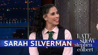 Sarah Silverman Keeps An Eye On America