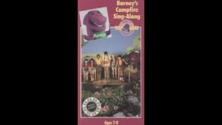 Barney's Campfire Sing Along (1990) [1991, VHS]