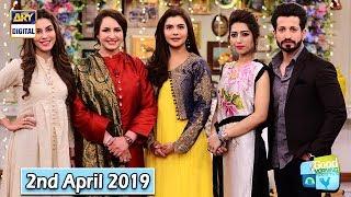 Good Morning Pakistan - Saba Faisal & Salman Faisal - 2nd April 2019 - ARY Digital Show