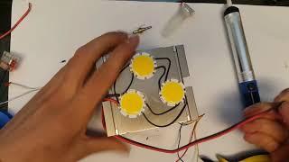 How To Make A Super Bright Light LED Flashlight - DIY