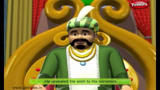 Floating Palace | 3D Birbal Stories For Kids in English | Akbar and Birbal Stories