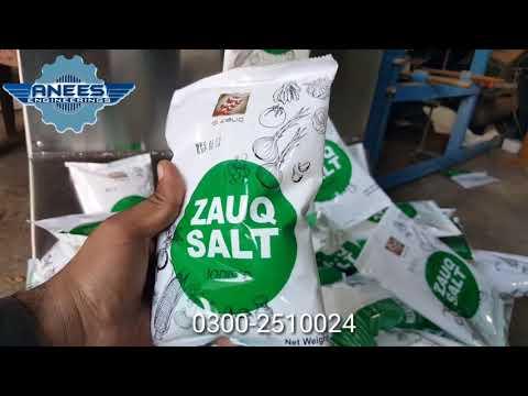 Automatic 1kg & 1 2kg Salt Packing Machine Delivered to Lahore Salt business idea