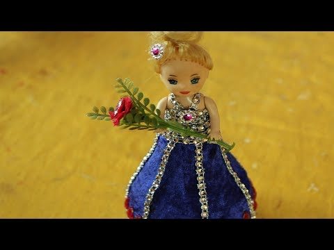 Xxx Mp4 DIY Craft Ideas With Waste Material How To Make Dress For Doll Art For Kids Hub Barbie Dolls 3gp Sex