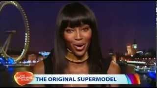 Naomi Campbell unimpressed Kayne and Kim Vouge cover