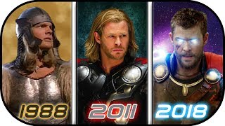 EVOLUTION of THOR in Movies (1988-2018) History of Thor Avengers Infinity War