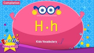 Kids vocabulary compilation - Words starting with H, h - Learn English for kids