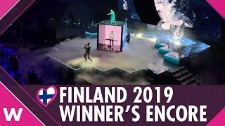 """""""Look Away"""" Darude feat. Sebastian Rejman   UMK 2019 Live Winner's Encore"""