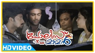 Poilce Maman Malayalam Movie | Scenes | Vishnu Raghav and friends find dead body in the car