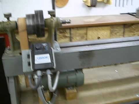 Build your own wood lathe being frugal is a good thing
