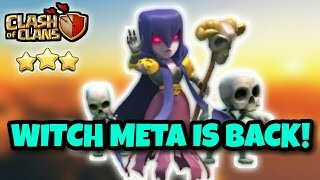 WITCH META IS BACK! | Th9 Best War Attack STRATEGY is Back | Clash Of Clans