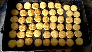 Making of Khara Biscuits in Bakery | Salty Cookie