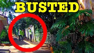 Lazy Cleaners Dumping Rubbish & Cyclist Busted Caught On Dashcam