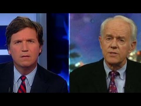 Tucker Carlson vs. actor Mike Farrell on unqualified Trump