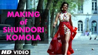 Making of Shundori Komola Video Song | Jeet Gannguli | Jeet, Aindrita Ray, Payal Sarkar