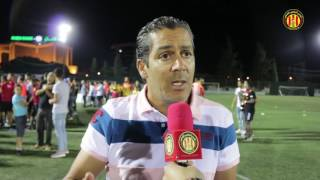 Juniors (vainqueurs du doublé): Réactions du coach Atef Souki et du jeune joueur Ben Romdhan