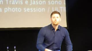 Jibcon 2016 - Jensen Sunday Panel (Part 1/2)