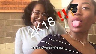 First Day Of Senior Year ‼️(Throw-up warning) | Vlog #6