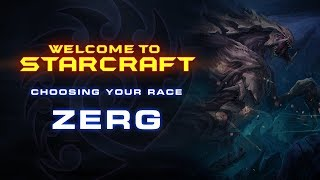 Welcome To StarCraft - Choosing Your Race (Zerg)