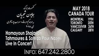 Homayoun Shajarian Canada Tour