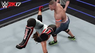 WWE 2K17 Top 10 Moves of AJ Styles! (PS4)