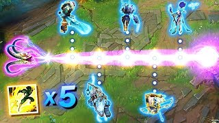 THE ULTIMATE FLASH MONTAGE - Best 200 IQ Flashes - League of Legends