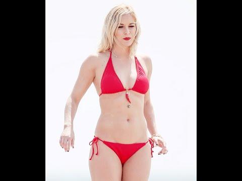 nude beach busty girl