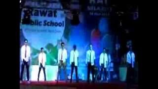 the super cool dance by students