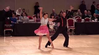 2016 Ohio Star Ball - Best of Best Finale Gold American Swing - Natalie Crandall & Decho Kraev