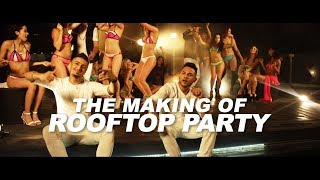 Rooftop Party (The Making Of) - UpsideDown | Amar Sandhu | Mickey Singh | PRANNA