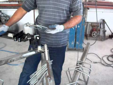 maqmex maquina para hacer estribos anillos de alambron