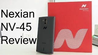 Nexian NV-45 Unboxing And Hands On Review
