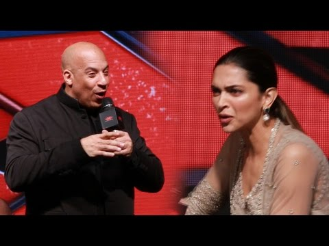 Xxx Mp4 Vin Diesel REACTS To Deepika Padukone S INDIAN ACCENT In XXx The Return Of Xander Cage 3gp Sex