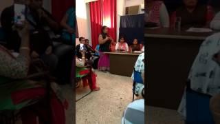 Arunamma tirunangai leader from tamil nadu speaks at all India Hijra transgender meeting