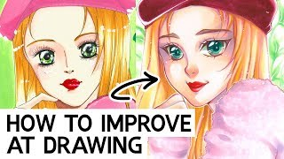 10 TIPS TO GET BETTER AT DRAWING