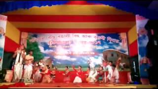 Khaat Bhonir Khur mixed cultural orchestra at Manipuri Basti 2017