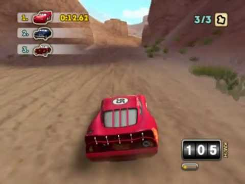 Cars Mater National Championship PS2 Gameplay