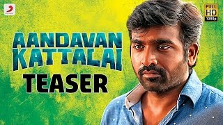 Aandavan Kattalai - Official Teaser | Vijay Sethupathi, Rithka Singh | K | Tamil