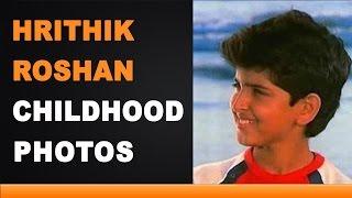 Hrithik Roshan Childhood Photos