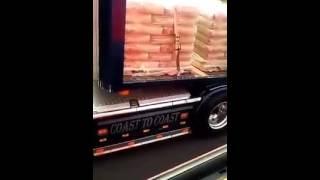 Scania V8 engine & turbo sound