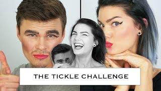 Boyfriend Makeup Tickle Challenge (I HATE Being Tickled)