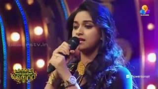 keerthi suresh singing like an angel
