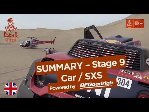 Summary Car SxS Stage 9 Pisco Pisco Dakar 2019