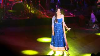 Shreya Ghoshal sings