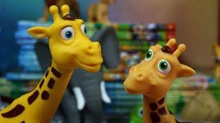 Przyjaciele na Safari #29 • Disney • Żyrafa Jenny • Encyklopedia zwierząt z zabawkami