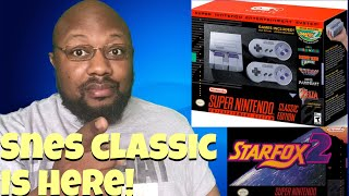 Snes classic with Star Fox 2 announced