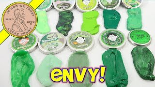 HUGE Collection Green Crazy Aaron
