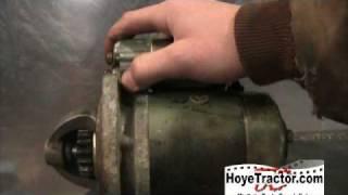 Yanmar Tractor Starter Solenoid Replacement