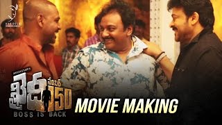 Khaidi No 150 Movie Making Video - Exclusive ||  Khaidi No 150 | Chiranjeevi | V V Vinayak | DSP