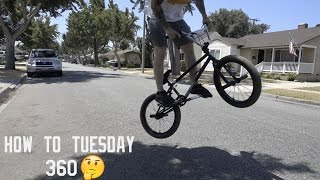 HOW TO-TUESDAY BUNNY HOP 360